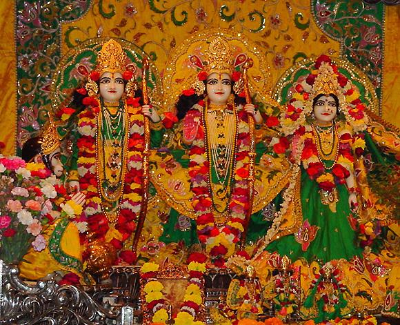 rama and sita. Sita, Rama and Laksman