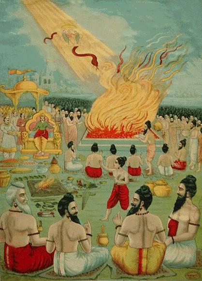 Janamejaya's 'Sarpa Yagna' (Snake Sacrifice)