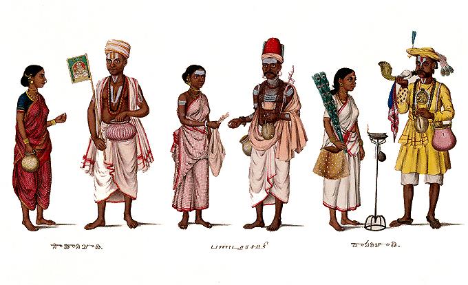 Формирование каст в древней Индии и законы Ману