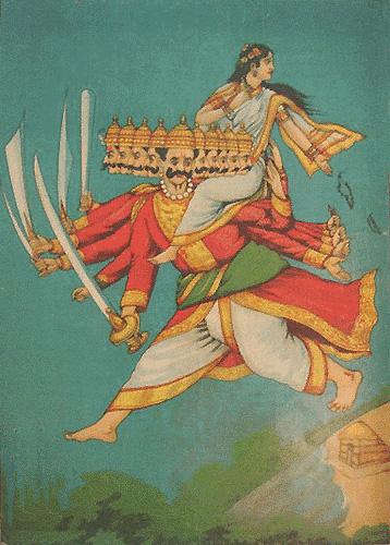 Ravana, Sita